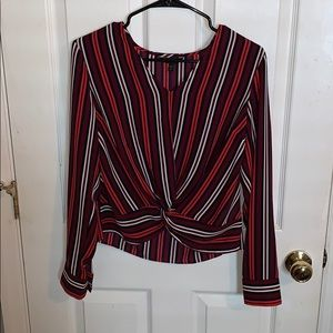Express work blouse size small